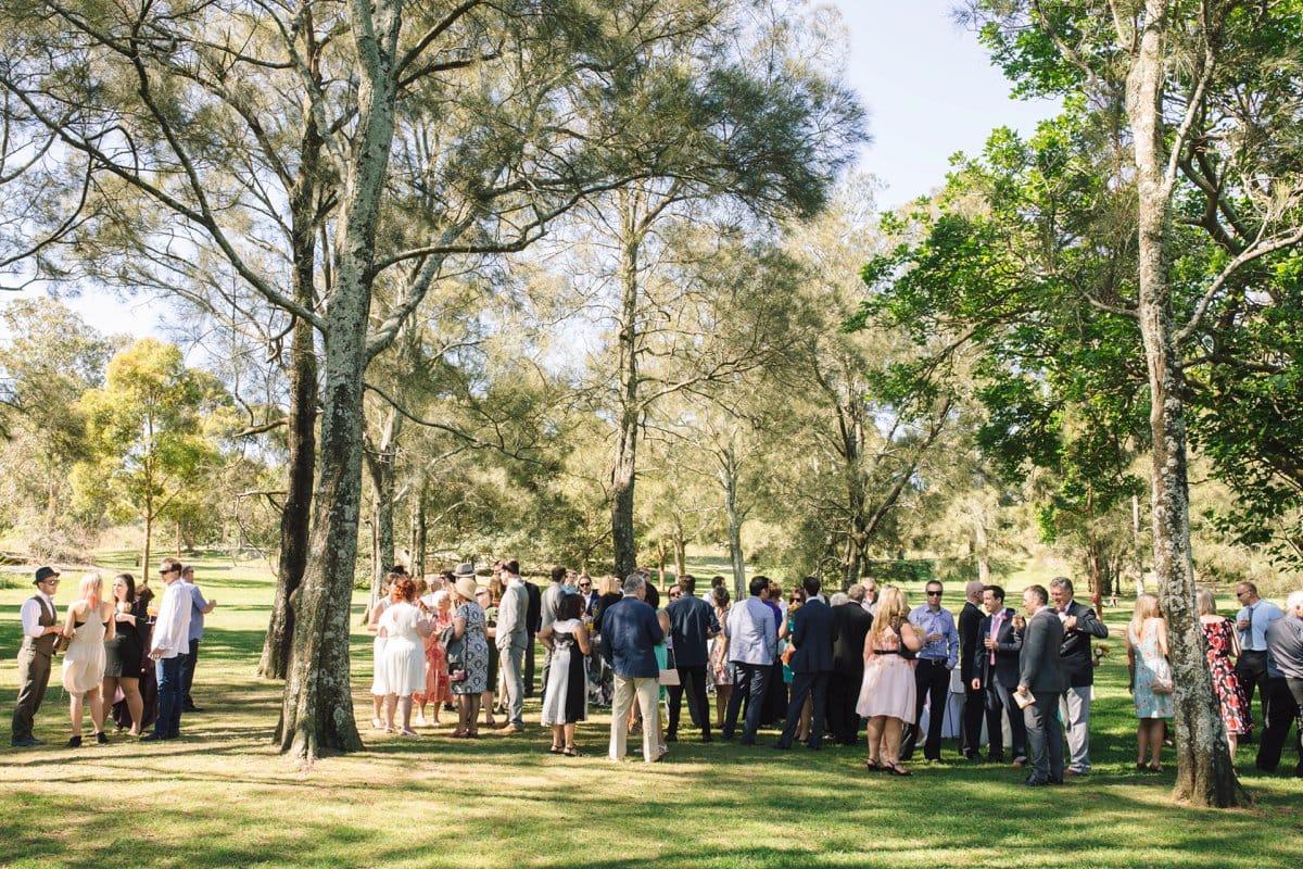 Centennial Park Spring Wedding