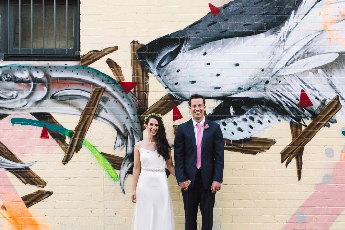 Wedding in Erskineville
